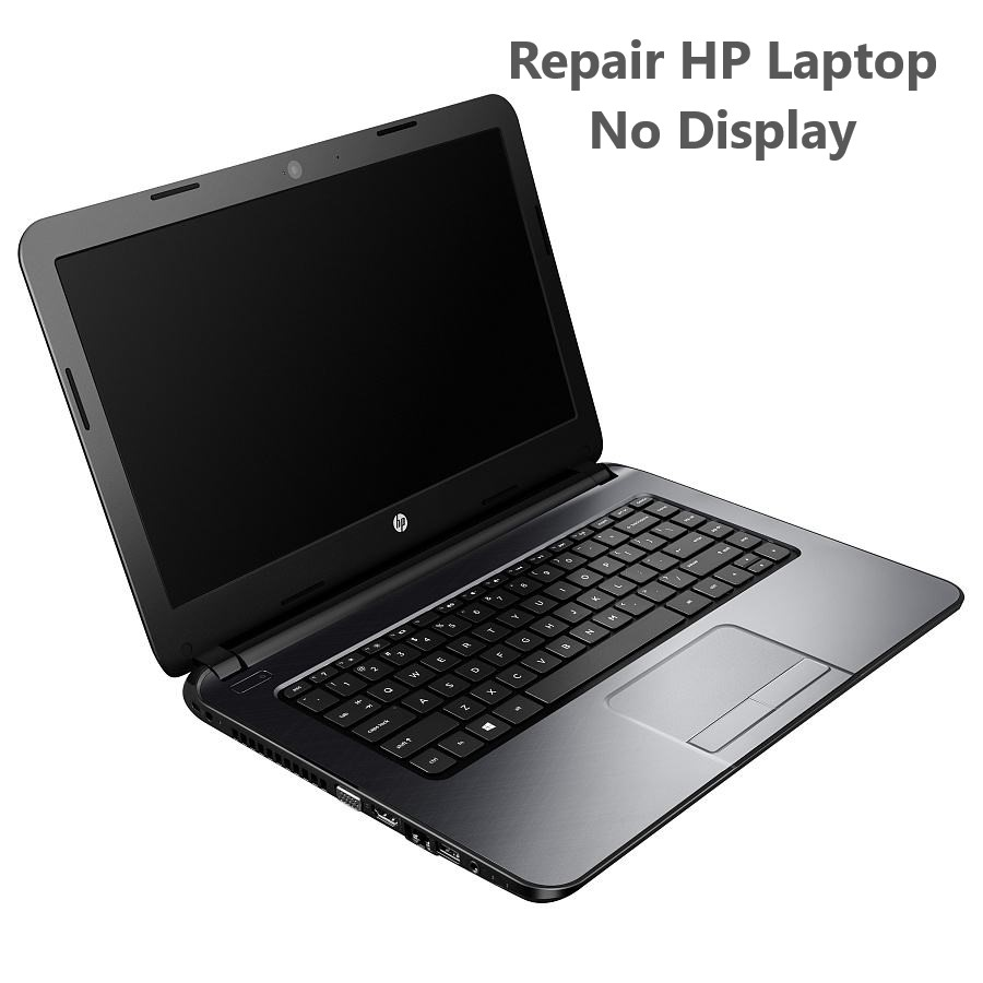 Repair HP Laptop no display in Ho Chi Minh