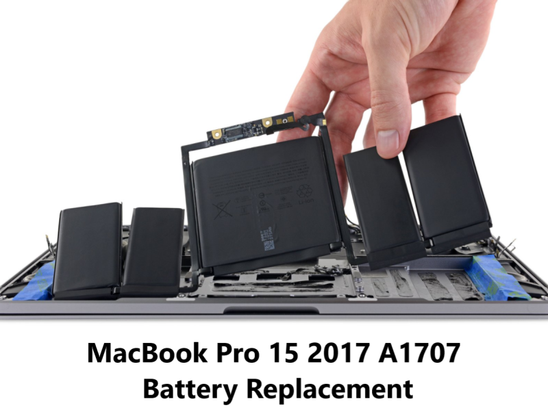 MacBook Pro 15 2017 A1707 battery replacement Ho Chi Minh City