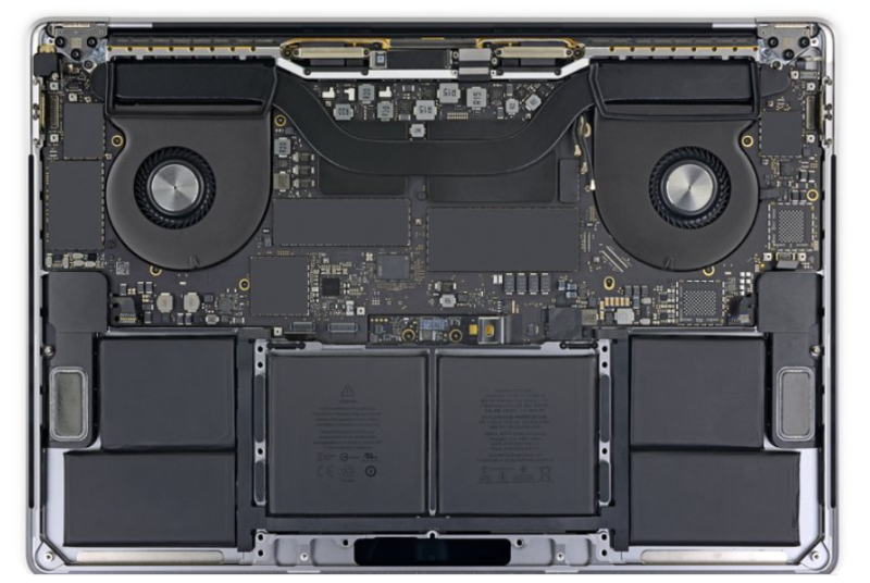 MacBook Pro 15 2019 A1990 battery replacement in Ho Chi Minh