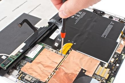 Surface Pro 3 battery replacement in Ho Chi Minh City